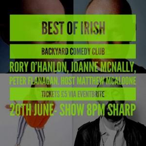 best of irish blurb june 18